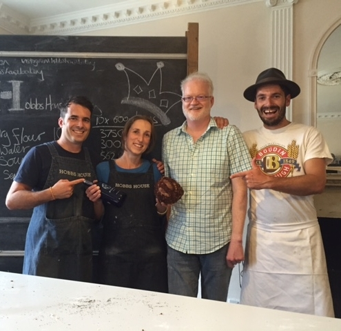 King of the sourdough, Hobbs House Bakery 2016. With Tom and Henry Herbert, the baker brothers.