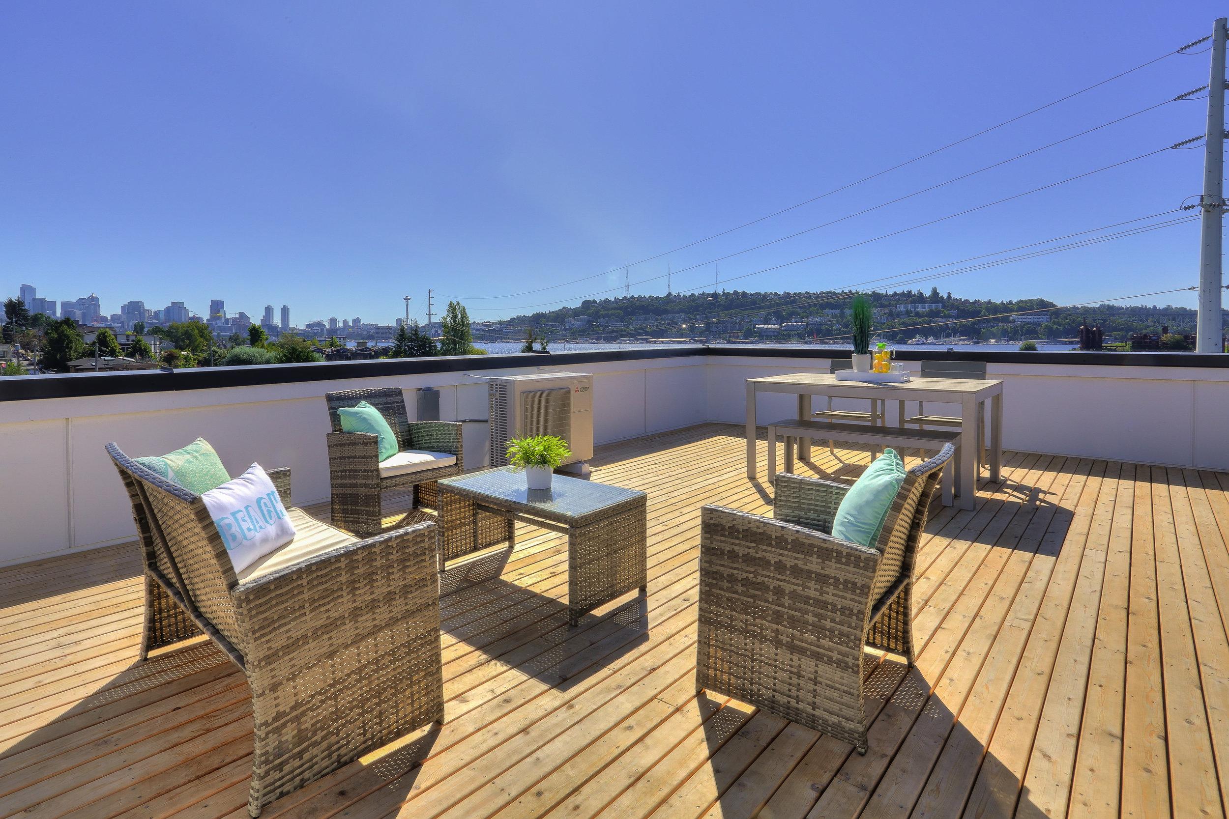 Expansive Rooftop Decks