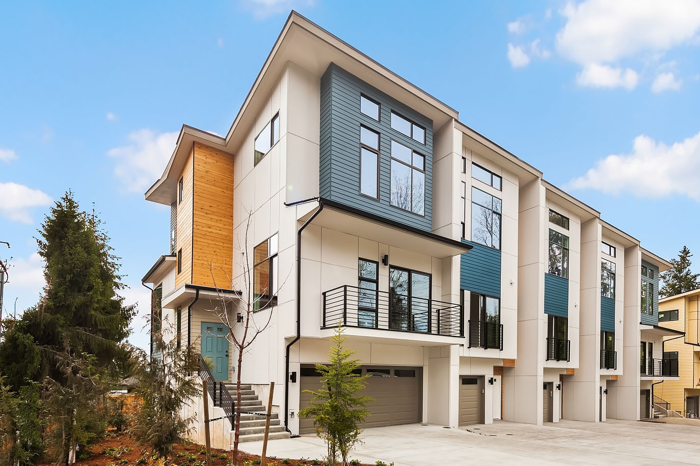 A collection of urban townhomes NOW SELLING in Redmond.