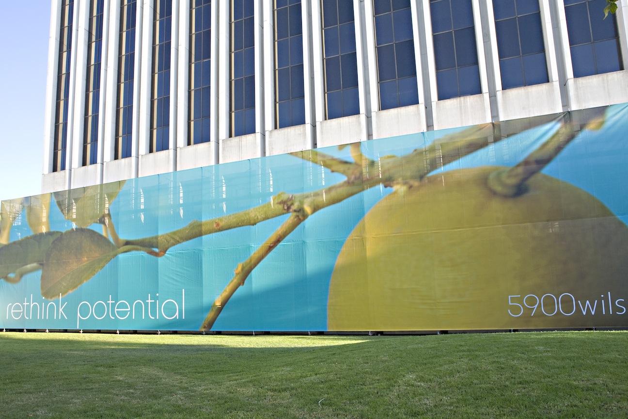 5900 Wilshire Building Wrap