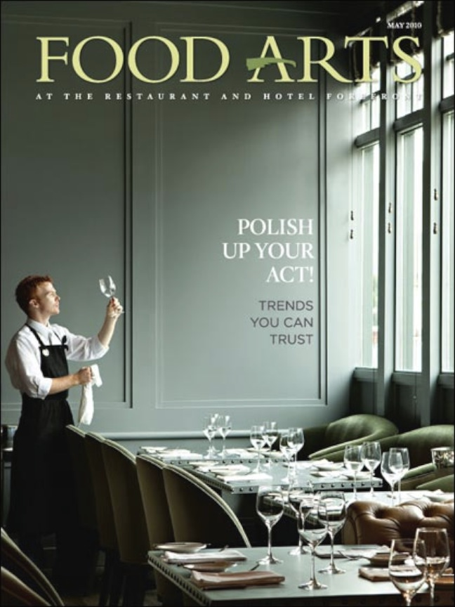 Food Arts Cover