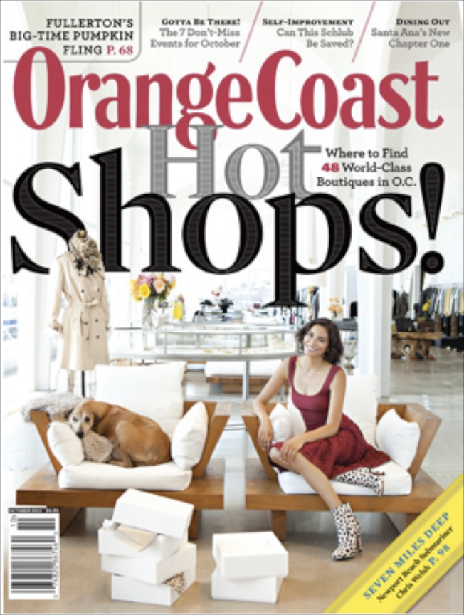 Orange Cost Magazine Cover