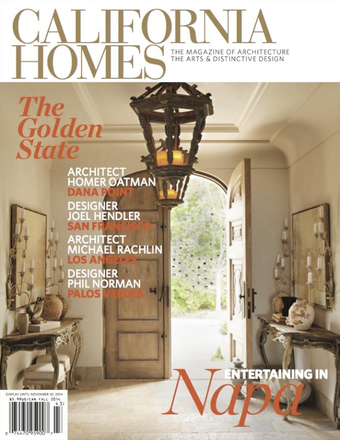 California Homes Cover