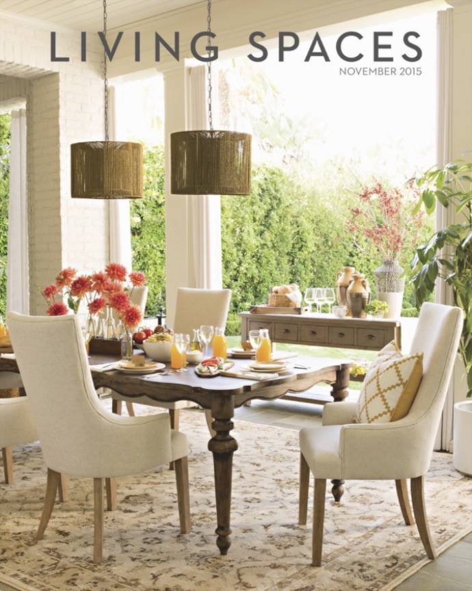 Living Spaces Catalog Cover