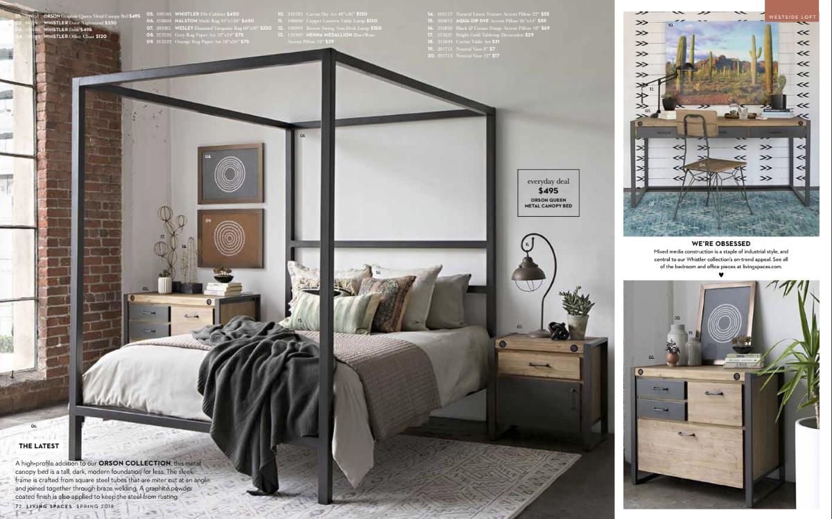 Living Spaces Catalog
