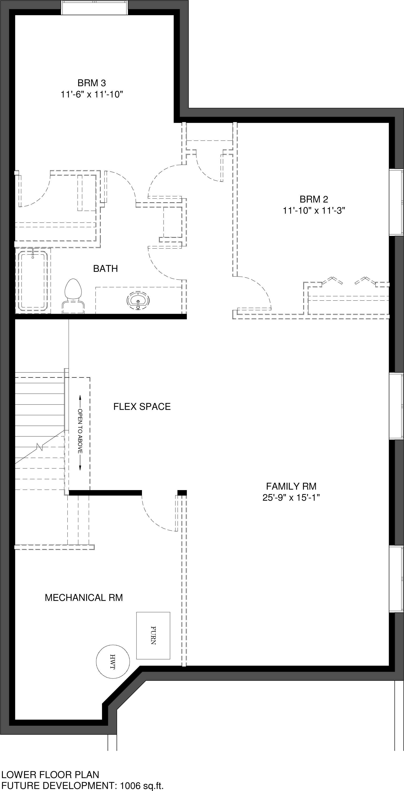 Main Floor  Optional Ensuite 1346 sq ft