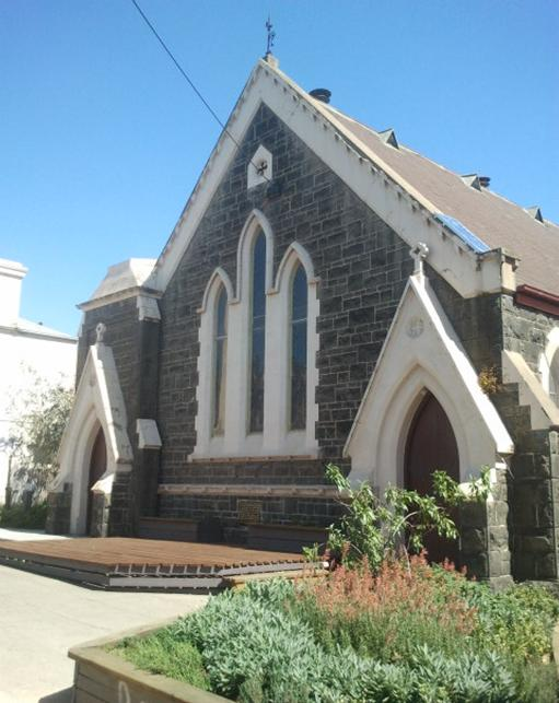 The Northcote Uniting Church building has stood on High Street since 1870