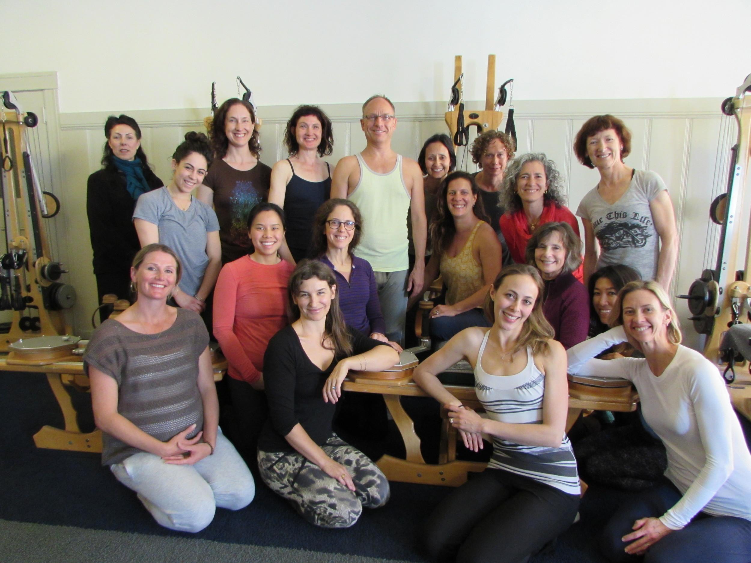 Juergen's Psoas course group