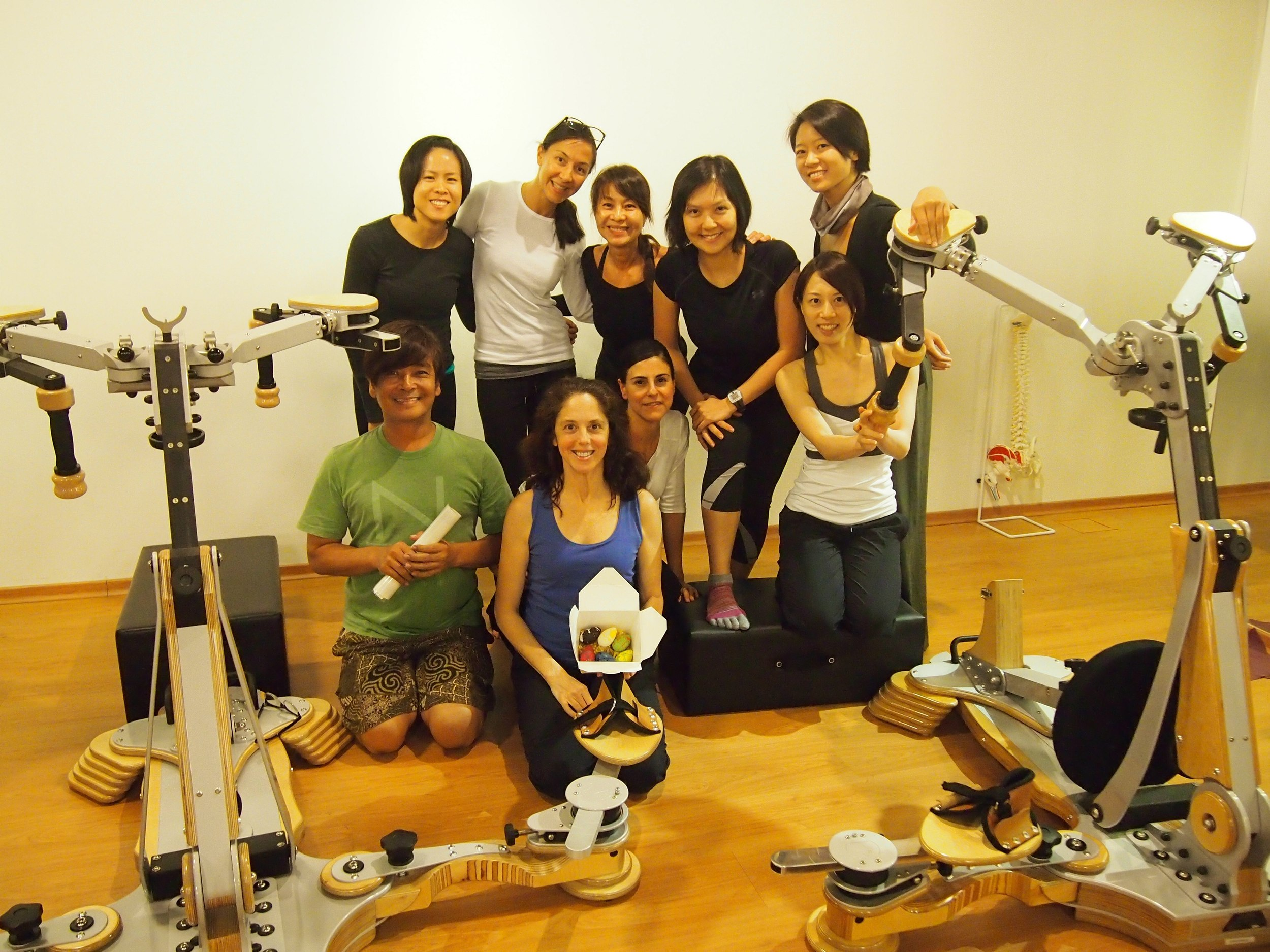 Deb's GYROTONER® course in Singapore