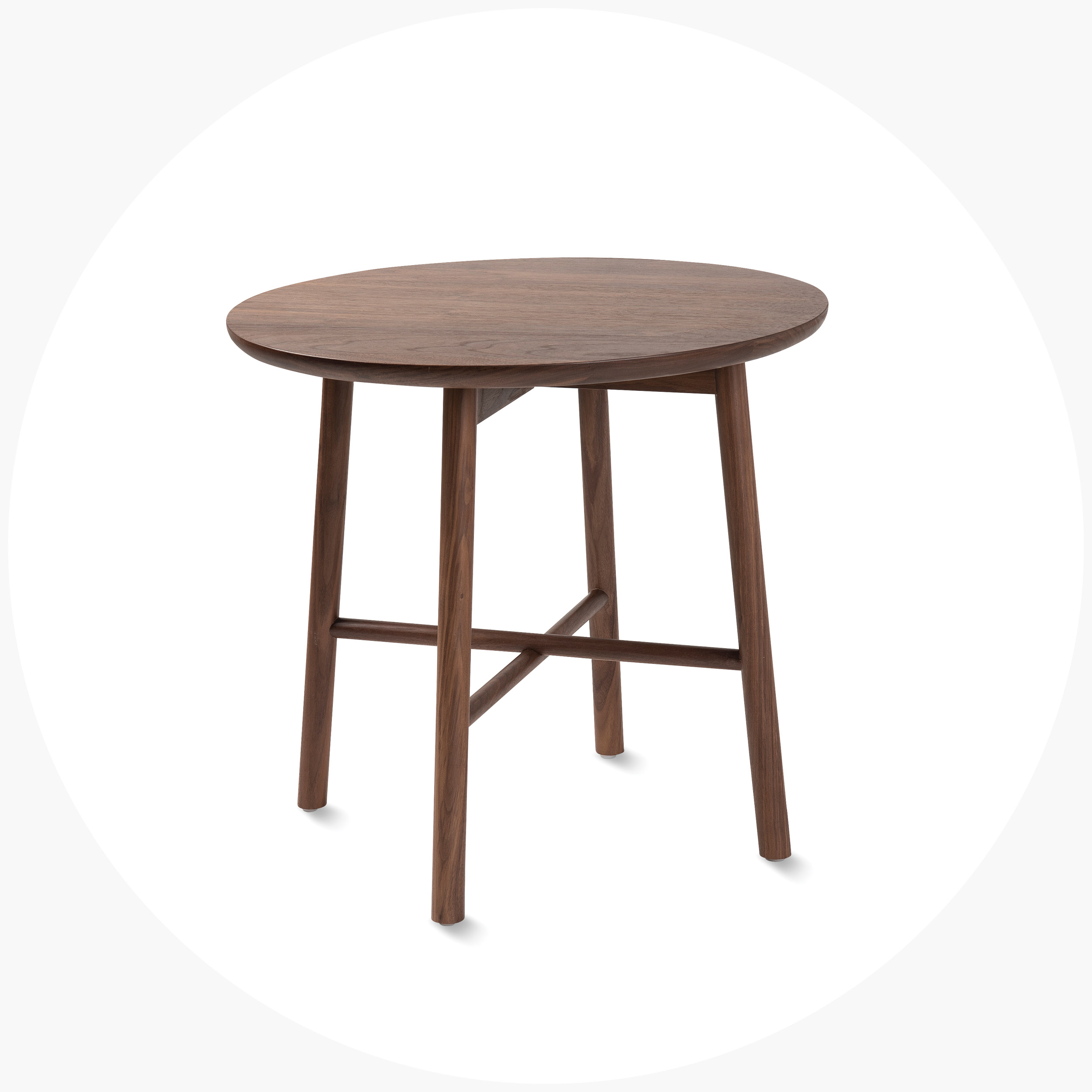 Radial Round Side Table  $590.00