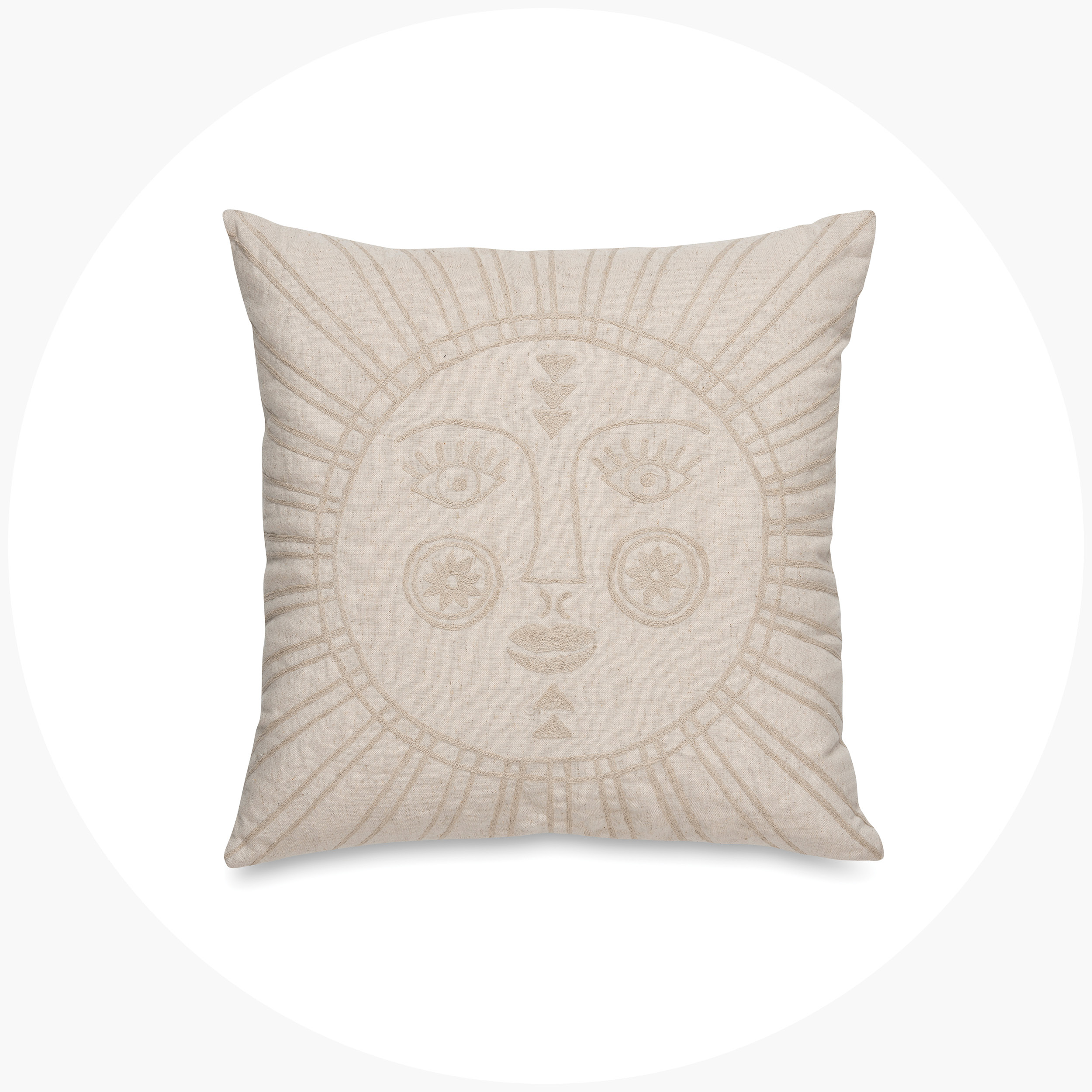 Sunshine Embroidered Cushion Cover  $69.90