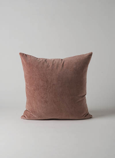 Cotton Velvet Cushion  Amethyst Tint  | $49.90