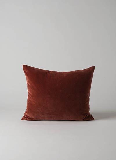 Cotton Velvet Cushion  Russet  | $49.90