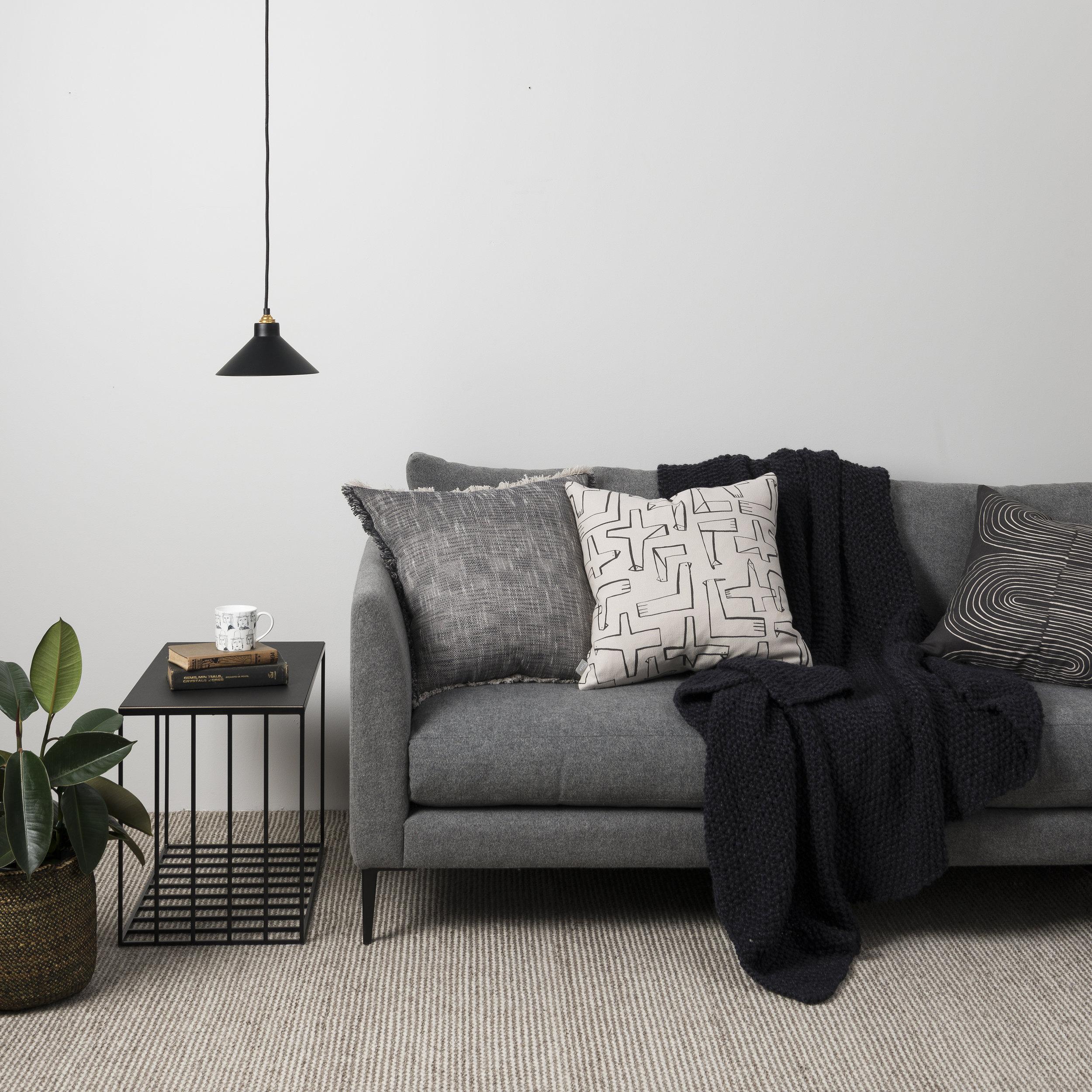 Città monochrome sofa styling inspiration