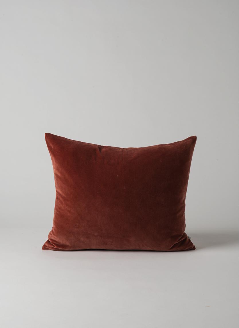 Russet Cotton Velvet Cushion  $44.90