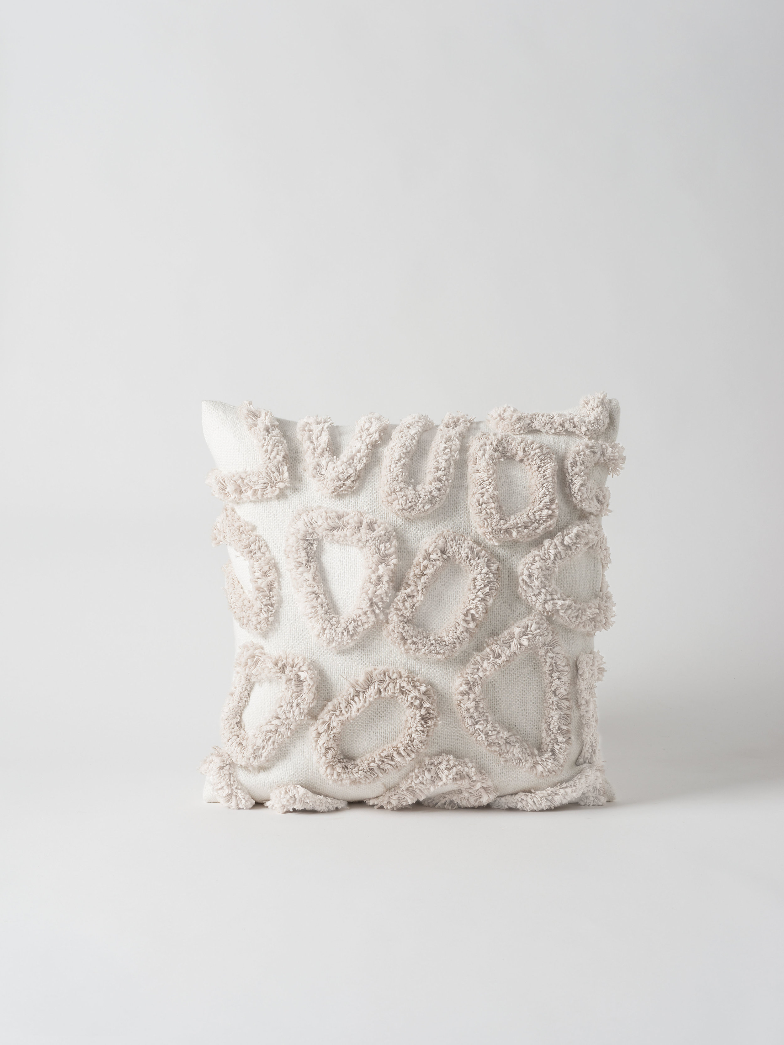 Coral Tufted Cushion Cover $99.90