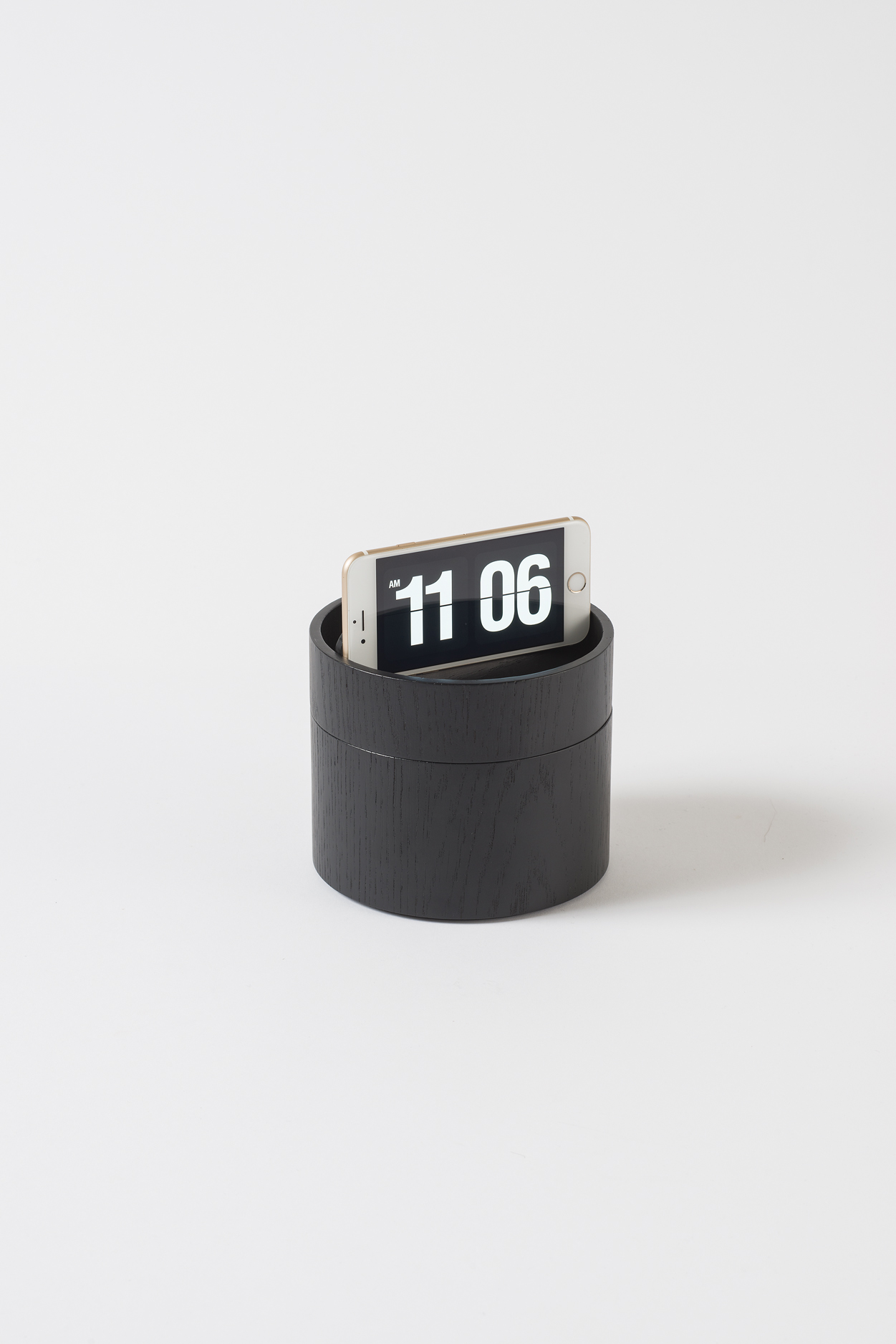 Small Black 2 Tier Gaussian Vessel $99.90