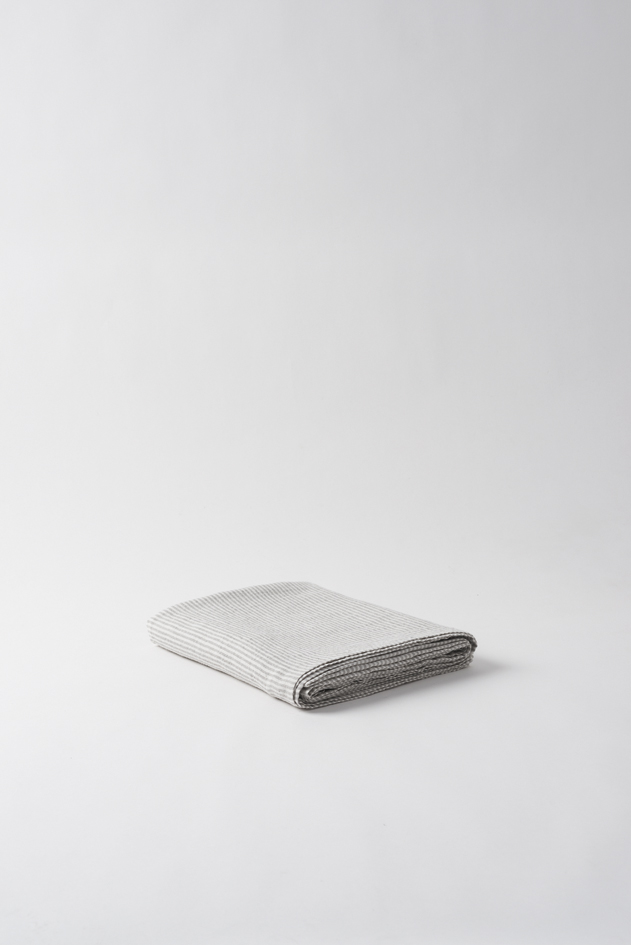 Dine Stripe Linen Tablecloth $159