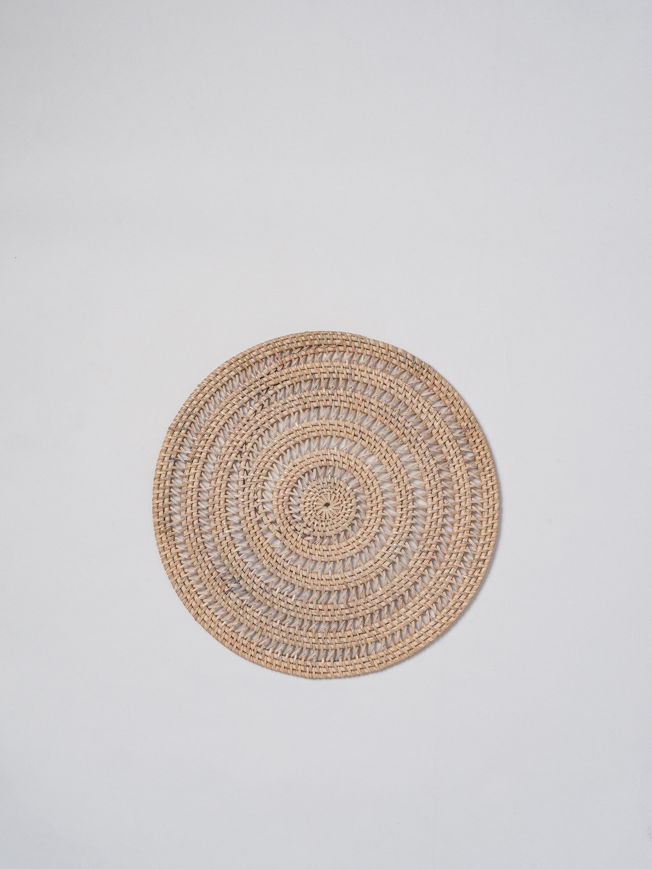 Rattan Round Placemat $19.90