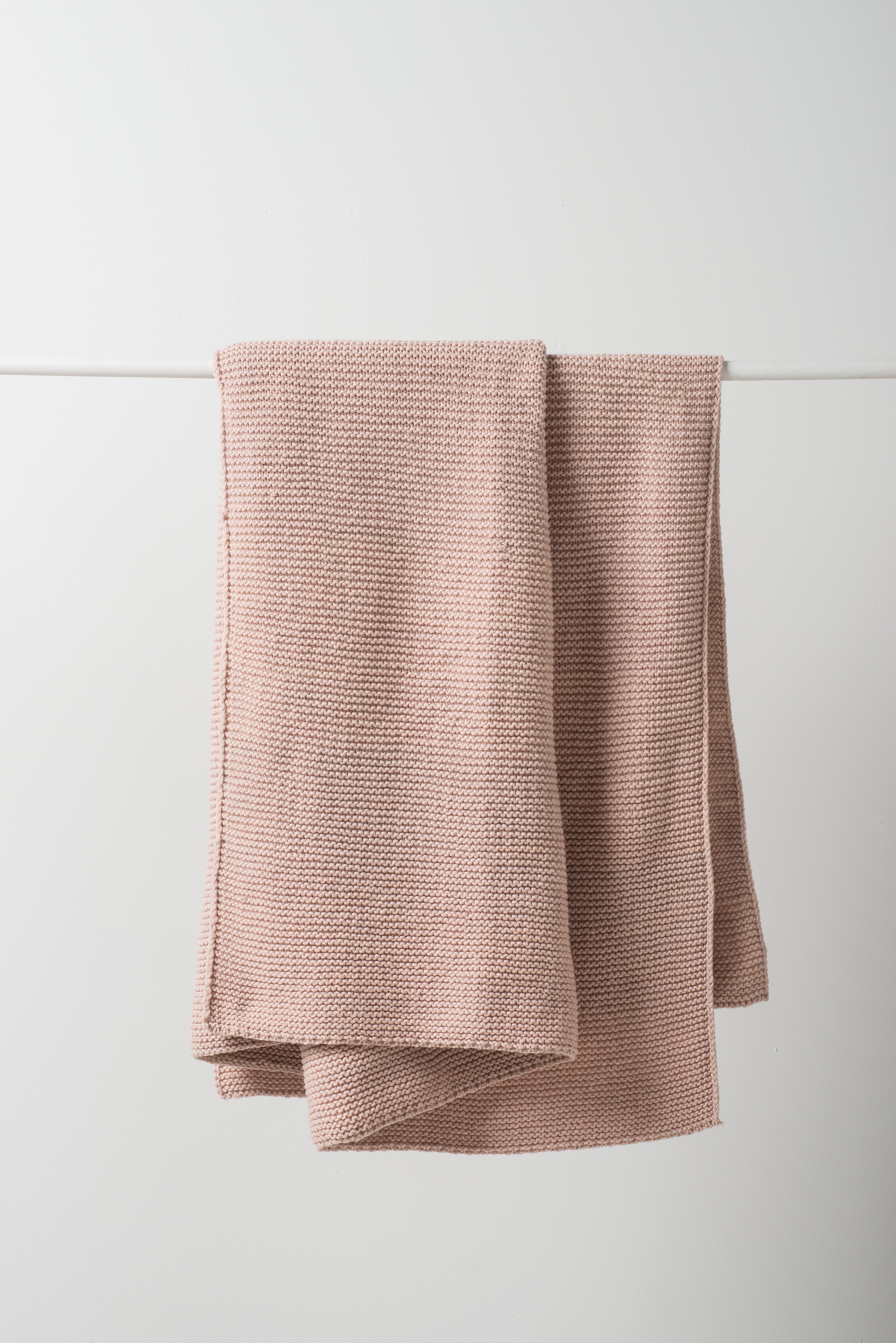 Purl Knit Wool Throw $239
