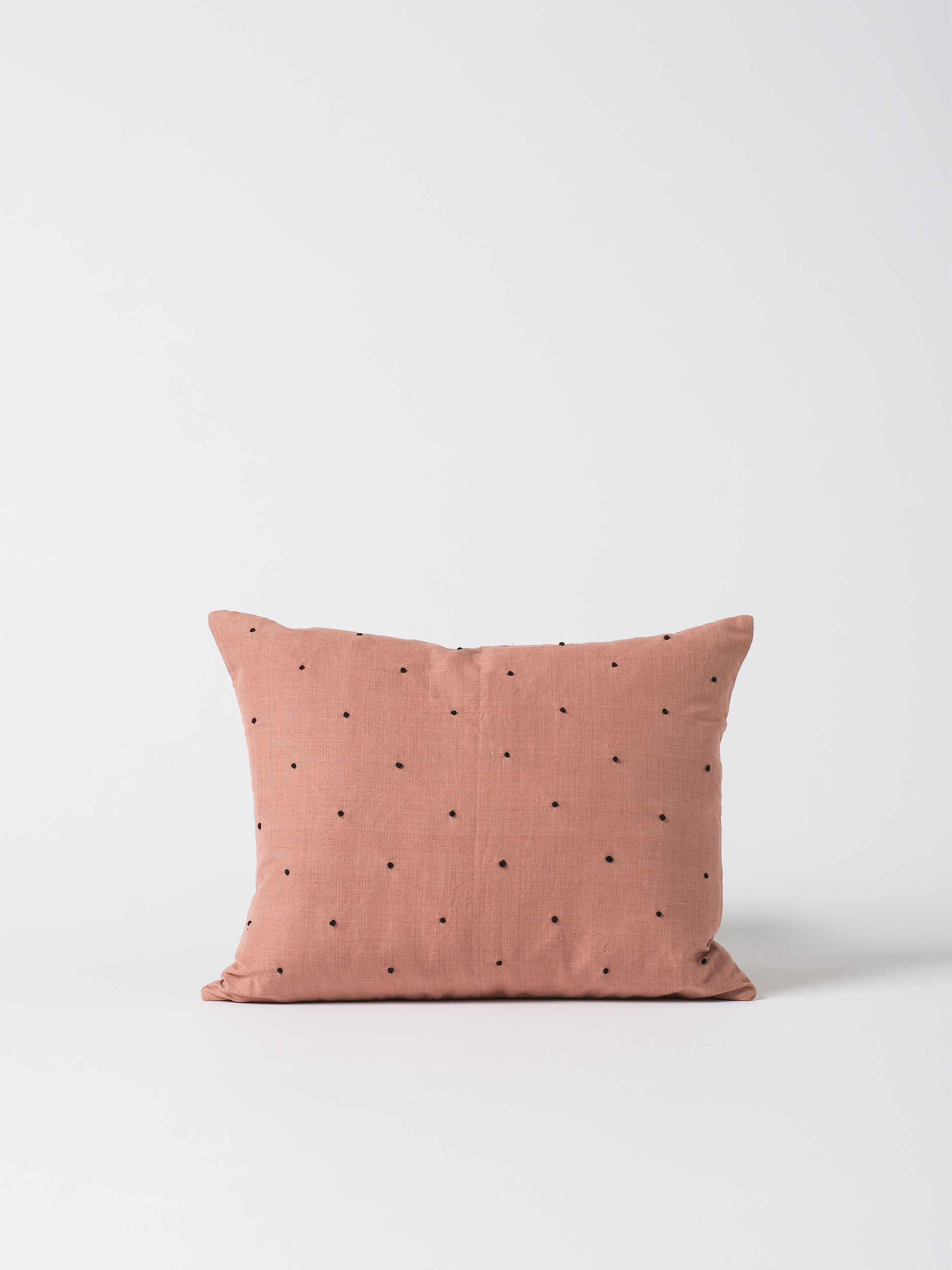 Mia Embroidered Linen Cushion Cover $59.90