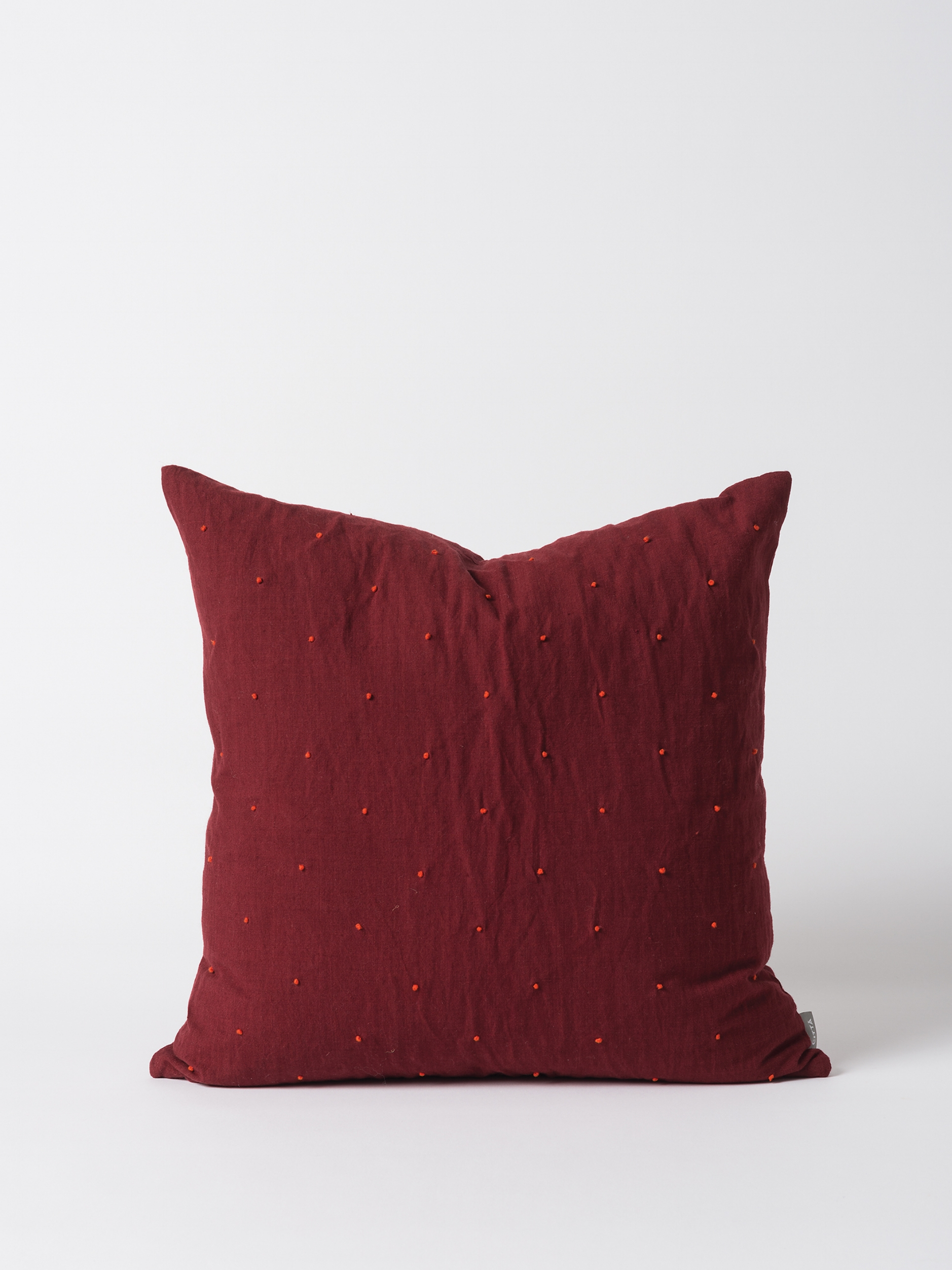 Mia Embroidered Linen Cushion Cover $79.90