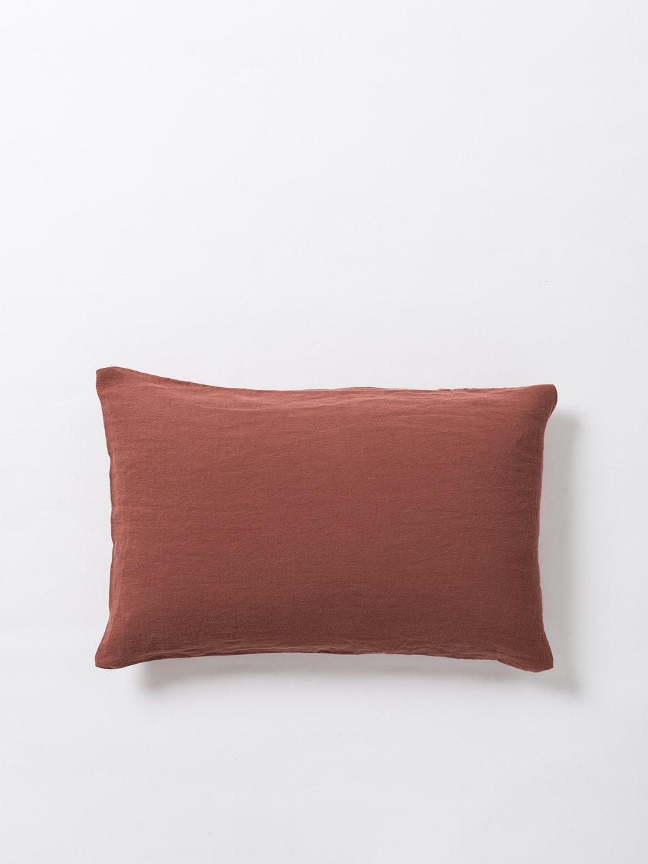 Sove Linen Pillowcase - Raisin $69.90