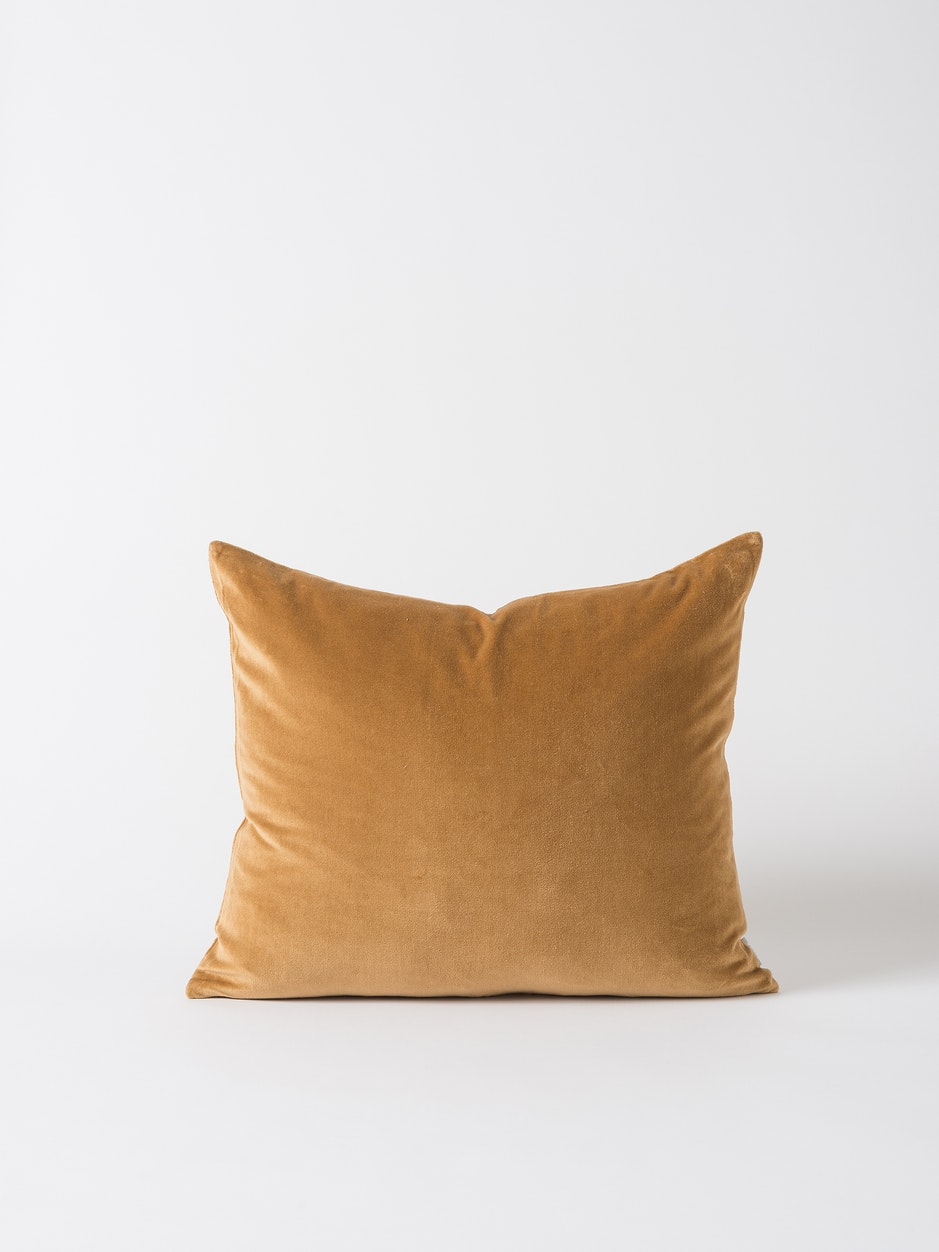 Velvet Cushion Cover - Curry $49.90