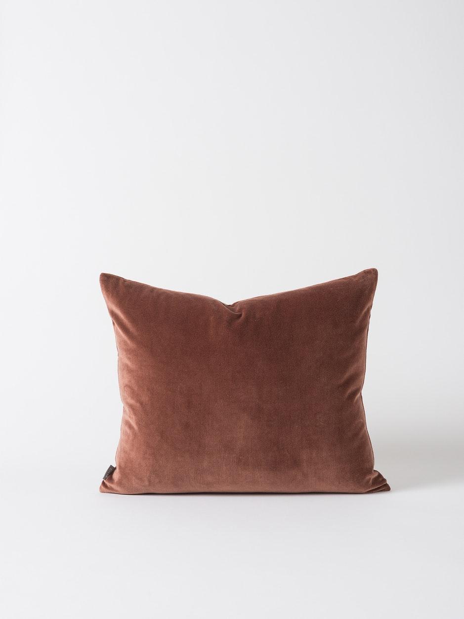 Velvet Cushion Cover - Eggplant $49.90