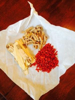 Bone broth herbs