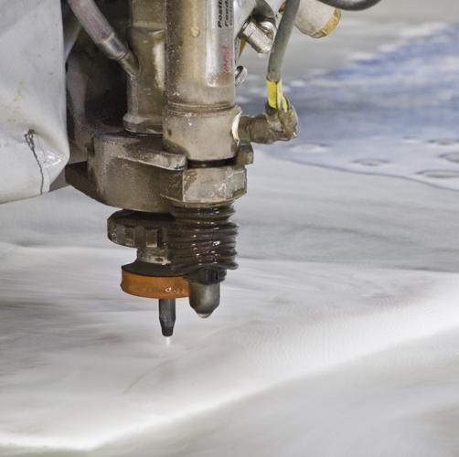 Waterjet Cutting Machine     CITATION SKD18 \l 1033    (SKD Studios)