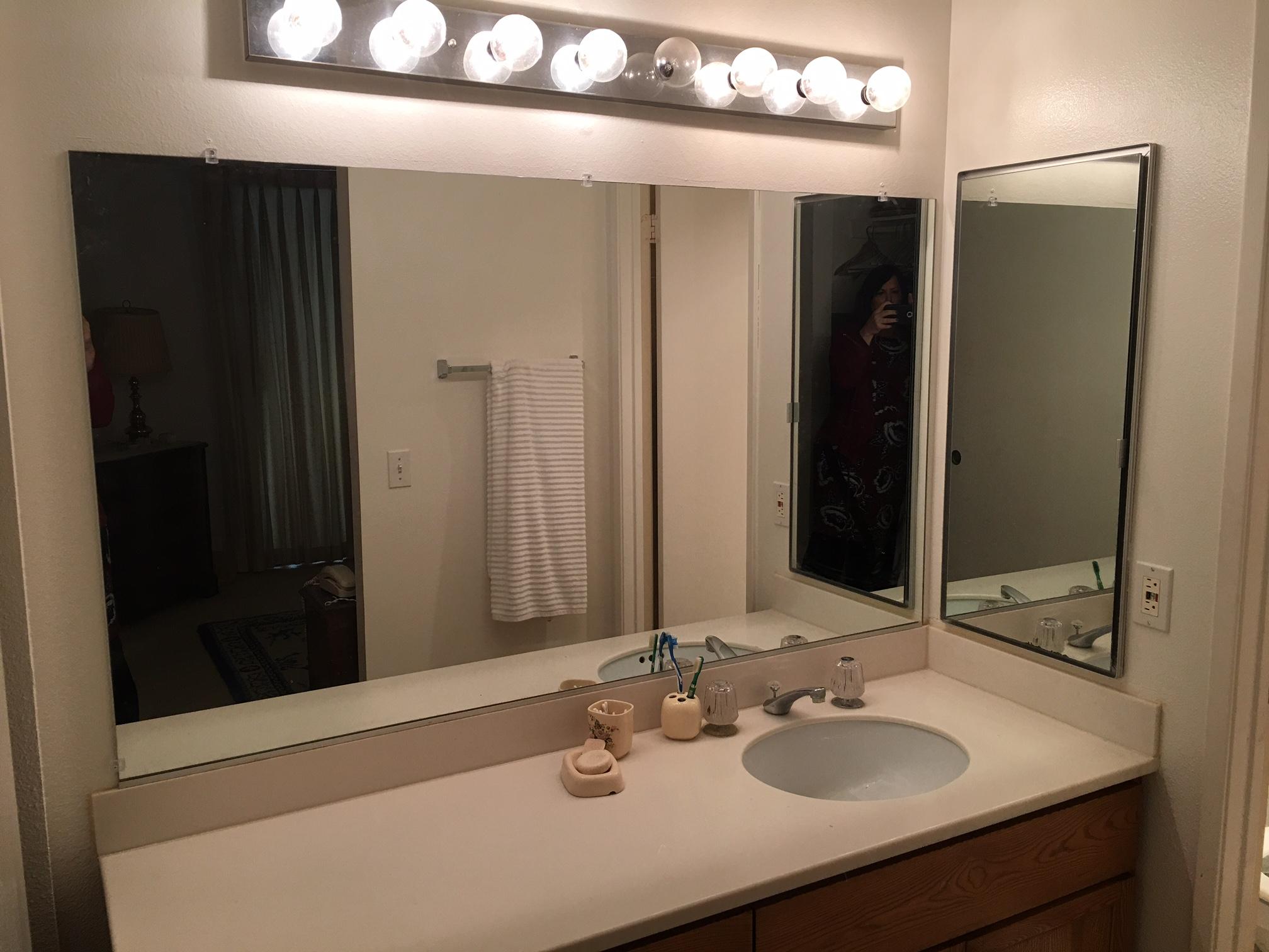 San Diego Condo Before Bathroom