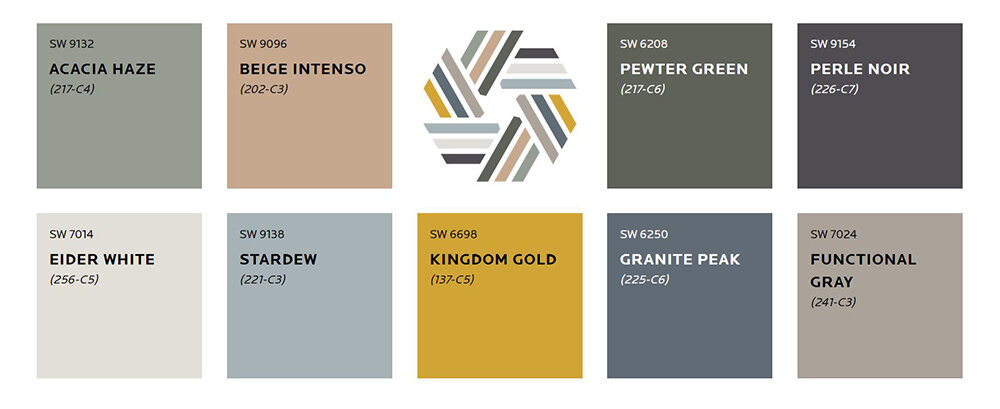 Sherwin Williams Haven Collection