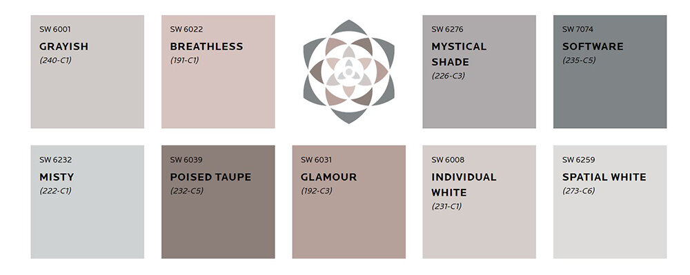 Sherwin Williams Mantra Collection
