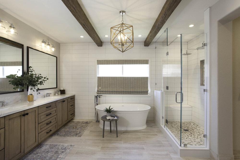 A Complete Master Bathroom Renovation, Master Bathroom Images