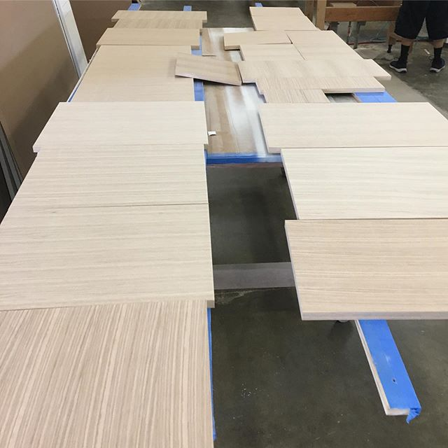 Friday work! Putting together real life puzzles that become a beautiful part of our customers' daily life is our mission. #nativeoakcabinets #ventura #socal #customcabinets #friday