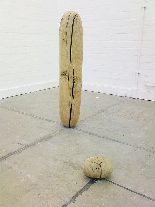 Void ii -  90cm x 15cm x 15cm - oak