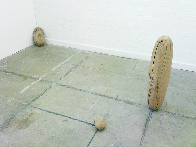 Void trinity -  varying sizes - oak