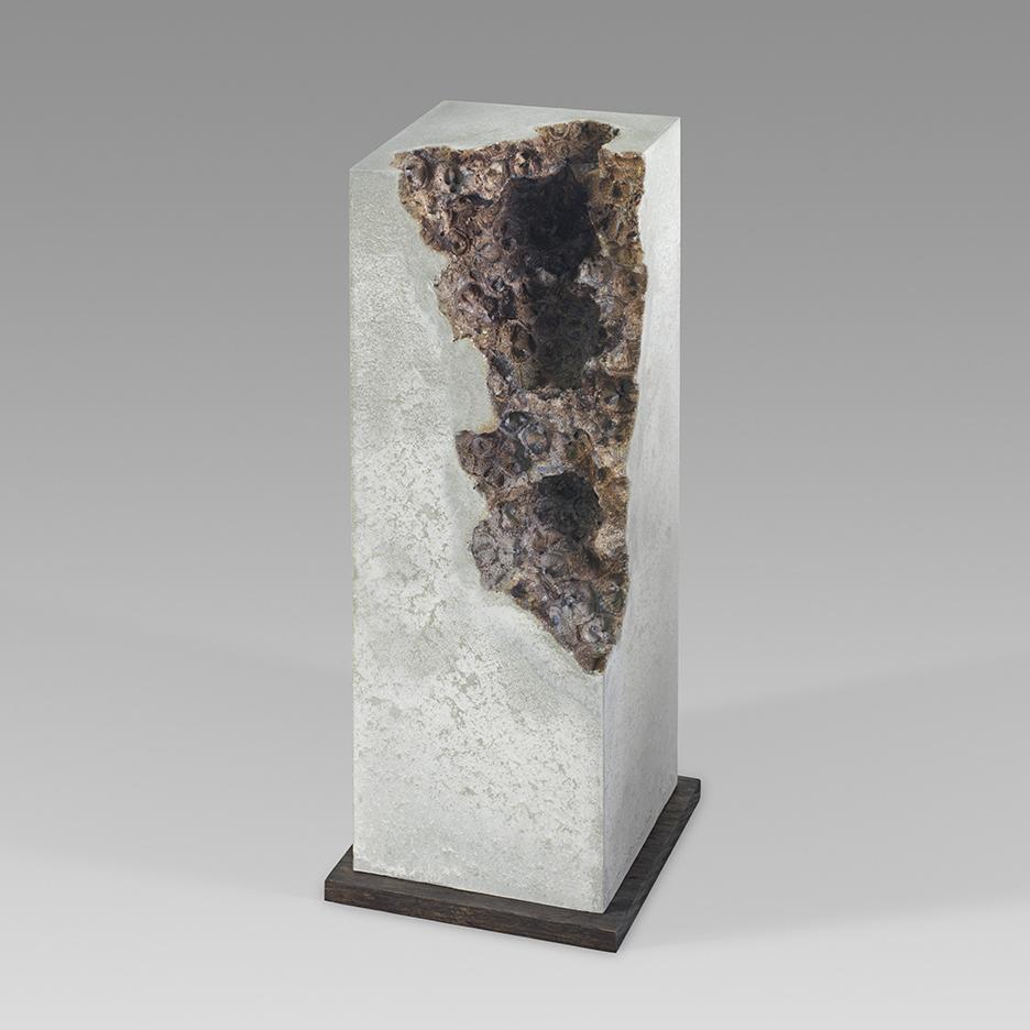 Traces vi - 39cm x 13cm x 13cm - concrete