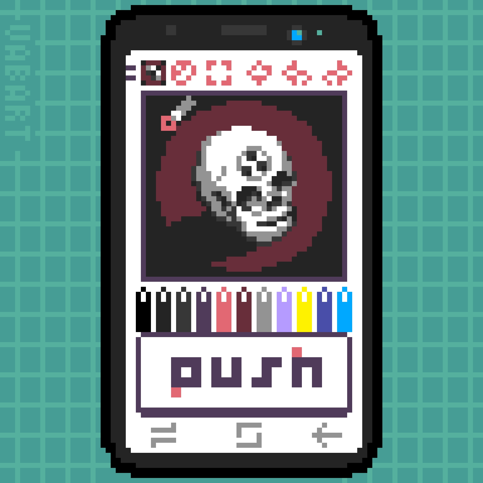 Woah, Meta (Dotpict, 16 colors)