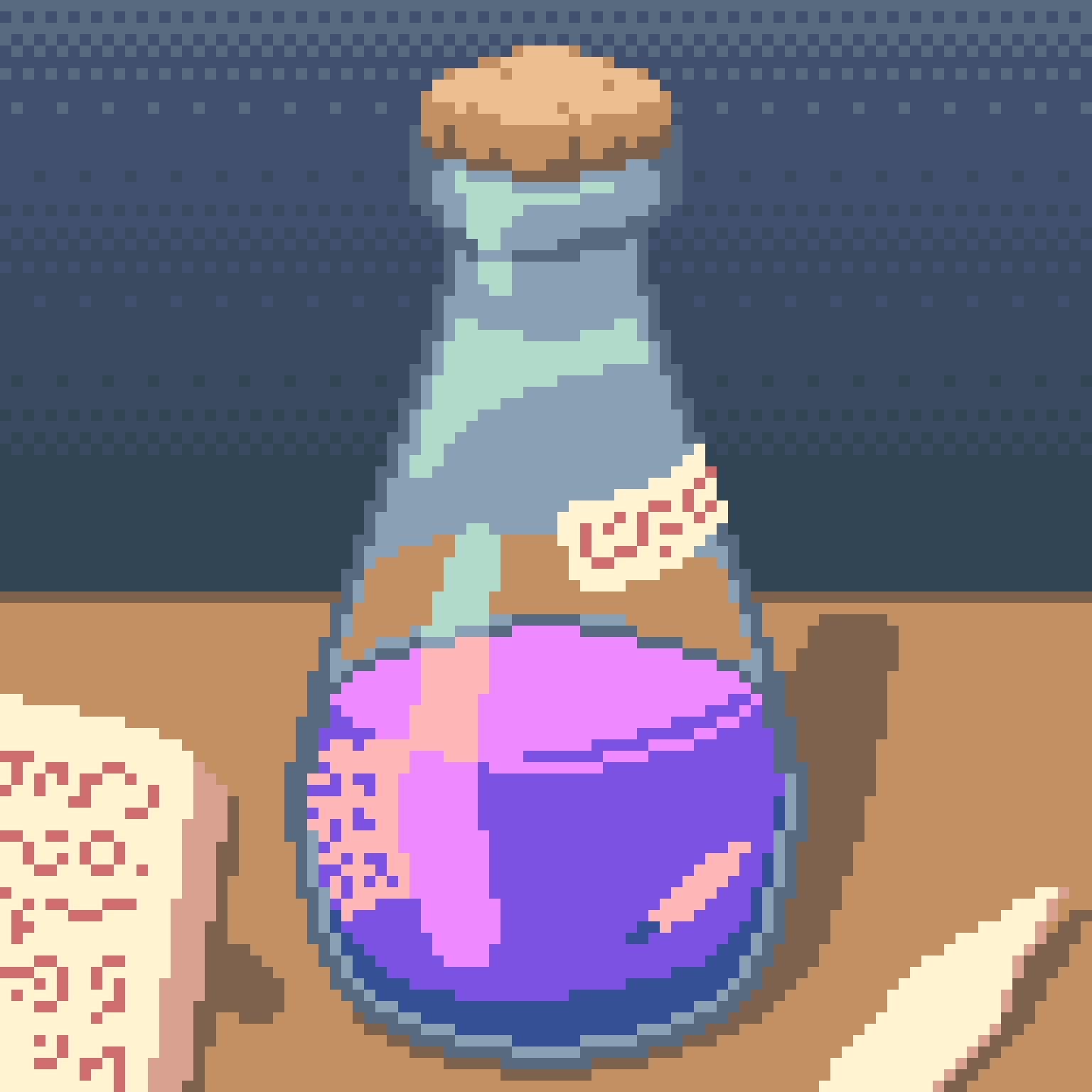 Potion Bottle (Dotpict, 16 colors)