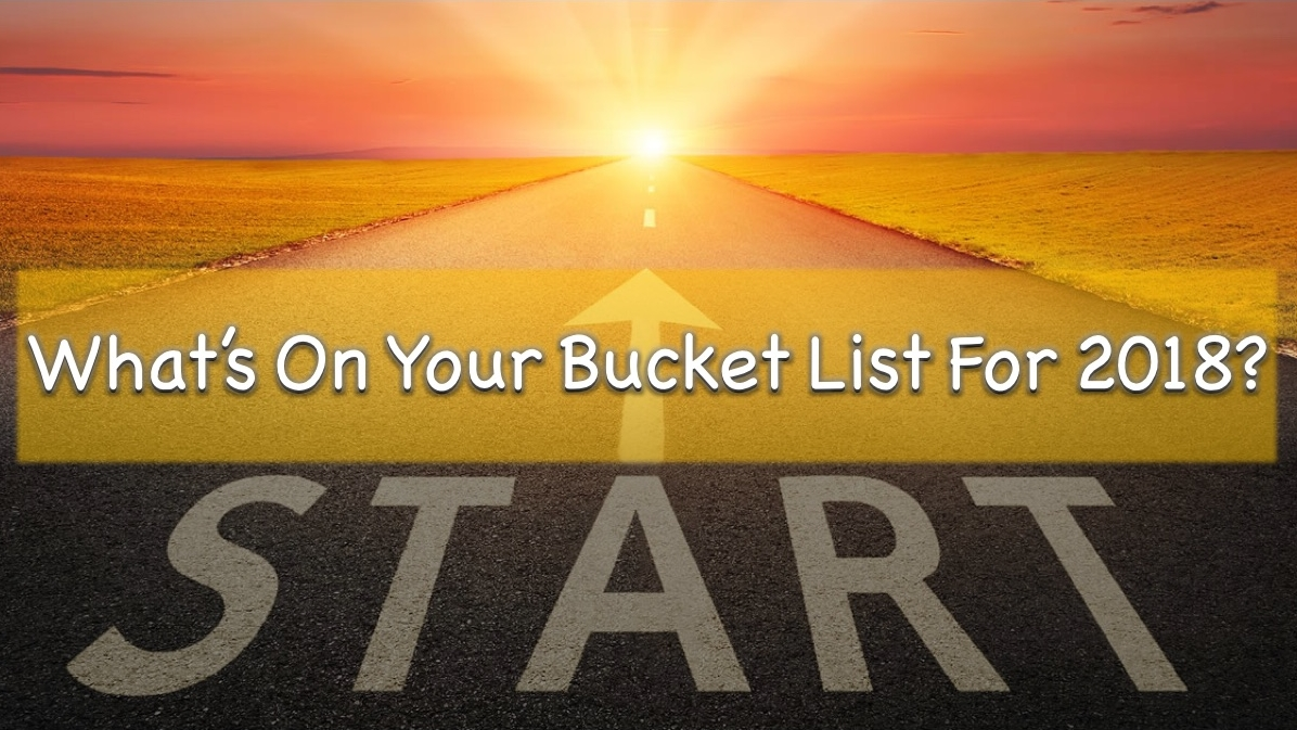 - What's on Your Bucket List for 2018?Ephesians 1:15-23David JacobsonDecember 31, 2017