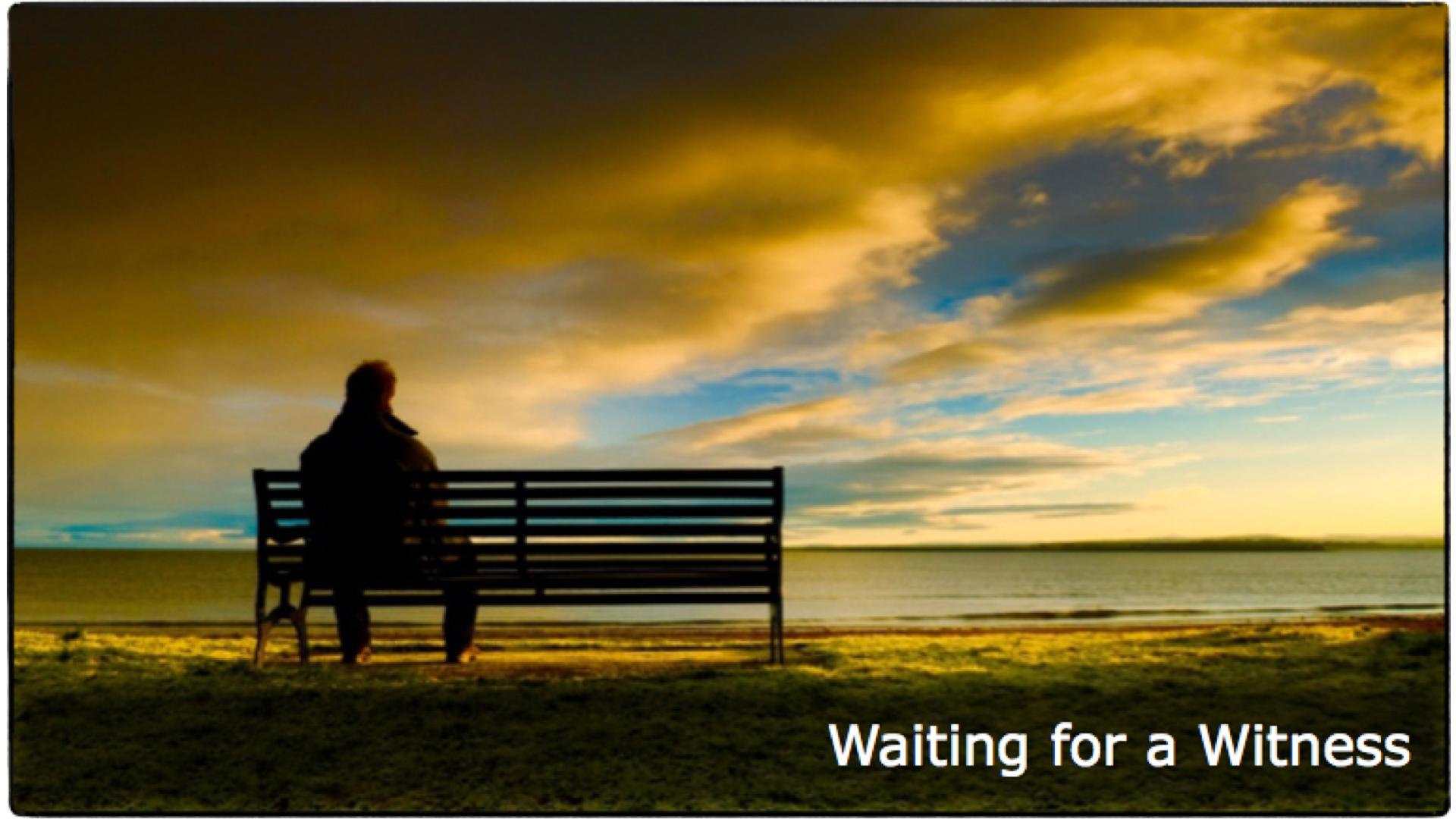 - Waiting for a WitnessActs 8:26-40Beau CrosettoFebruary 10, 2019
