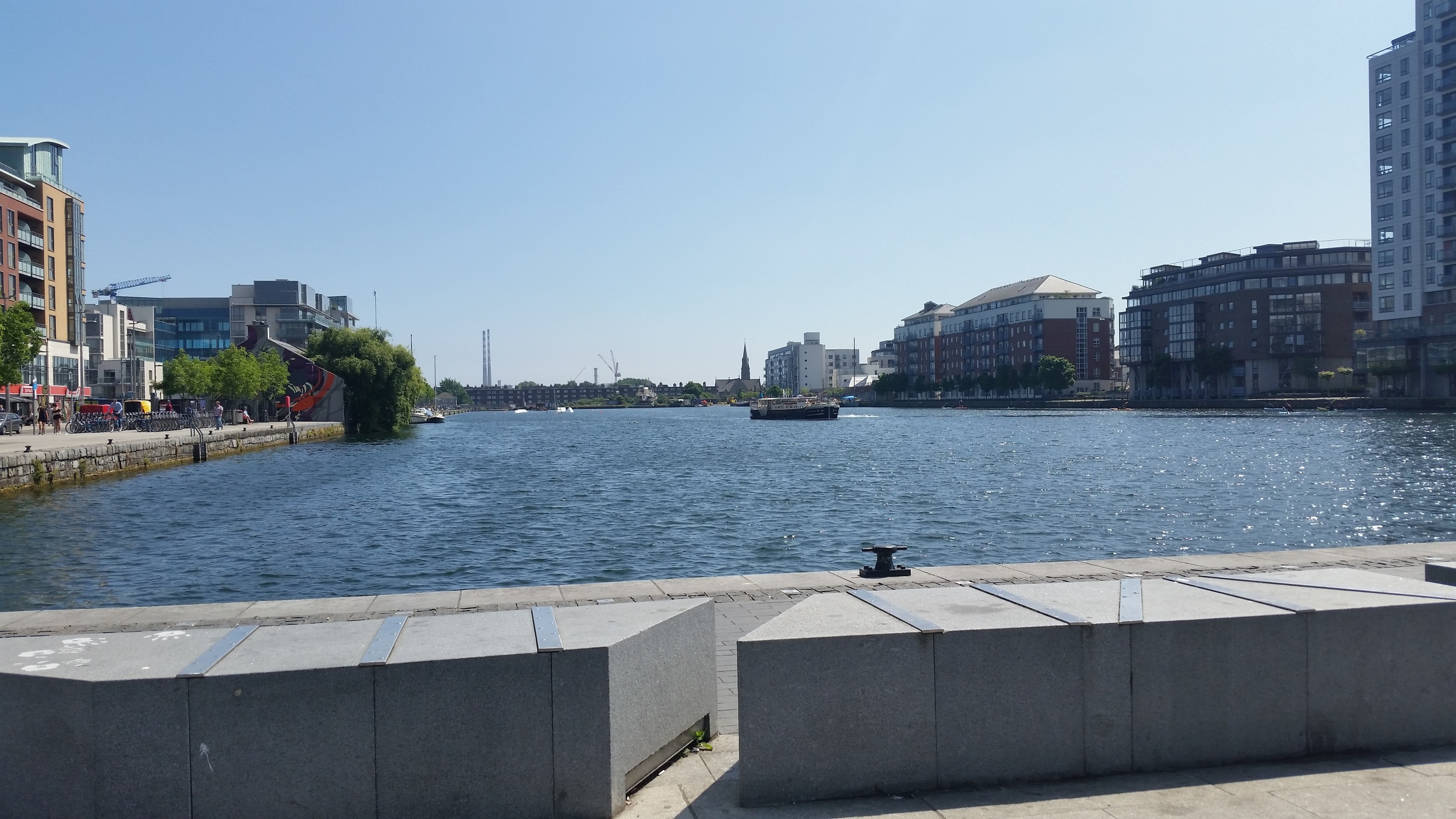 Grand Canal Docks. This is about 3 blocks from where I will be working.
