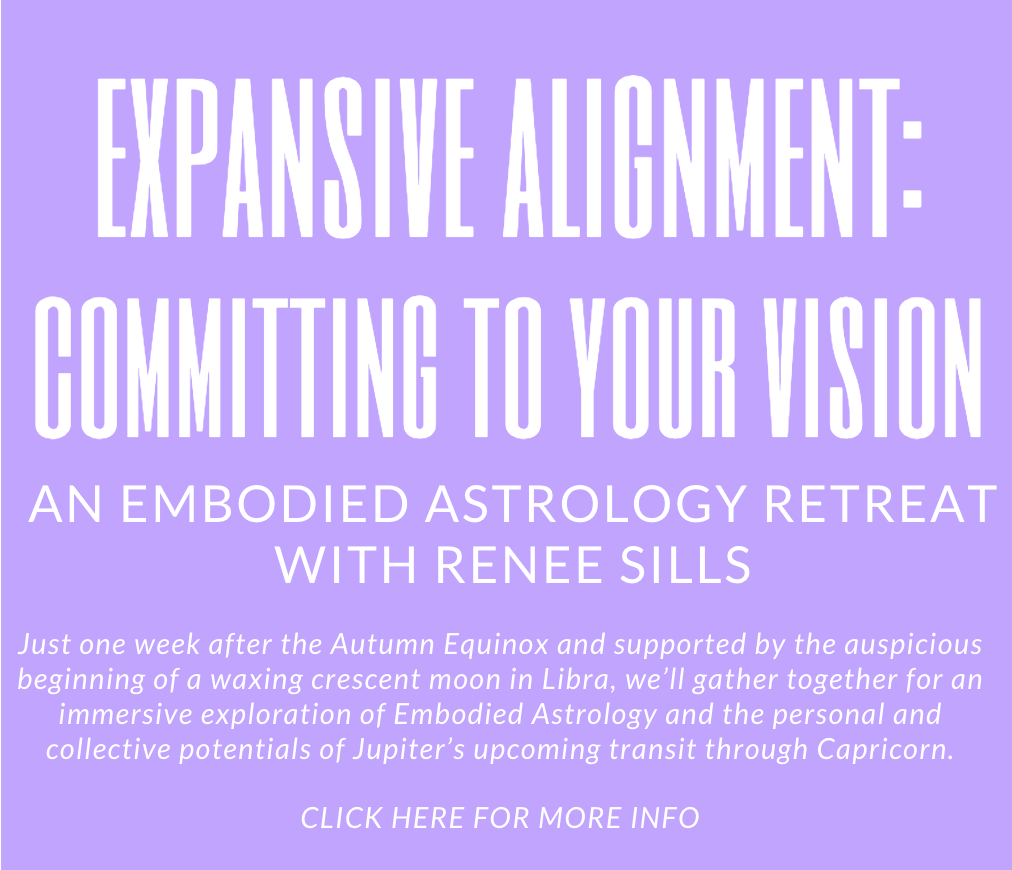 Evolution & Expansion - Embodied Astrology for the Sagittarius Full