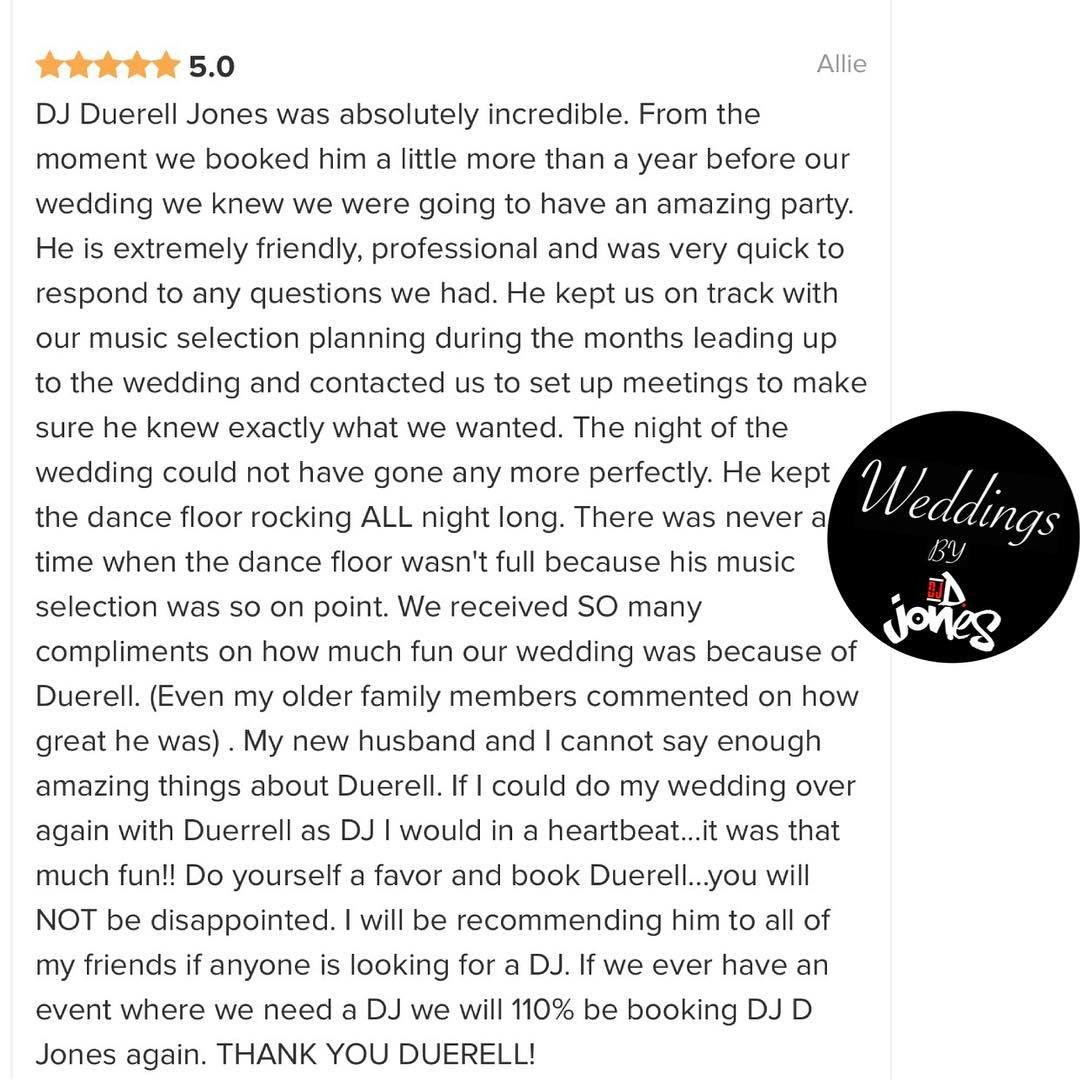 Weddings By DJ D Jones luxury bolingbrook golf club best 5 star review northwestern hospital RN.jpg