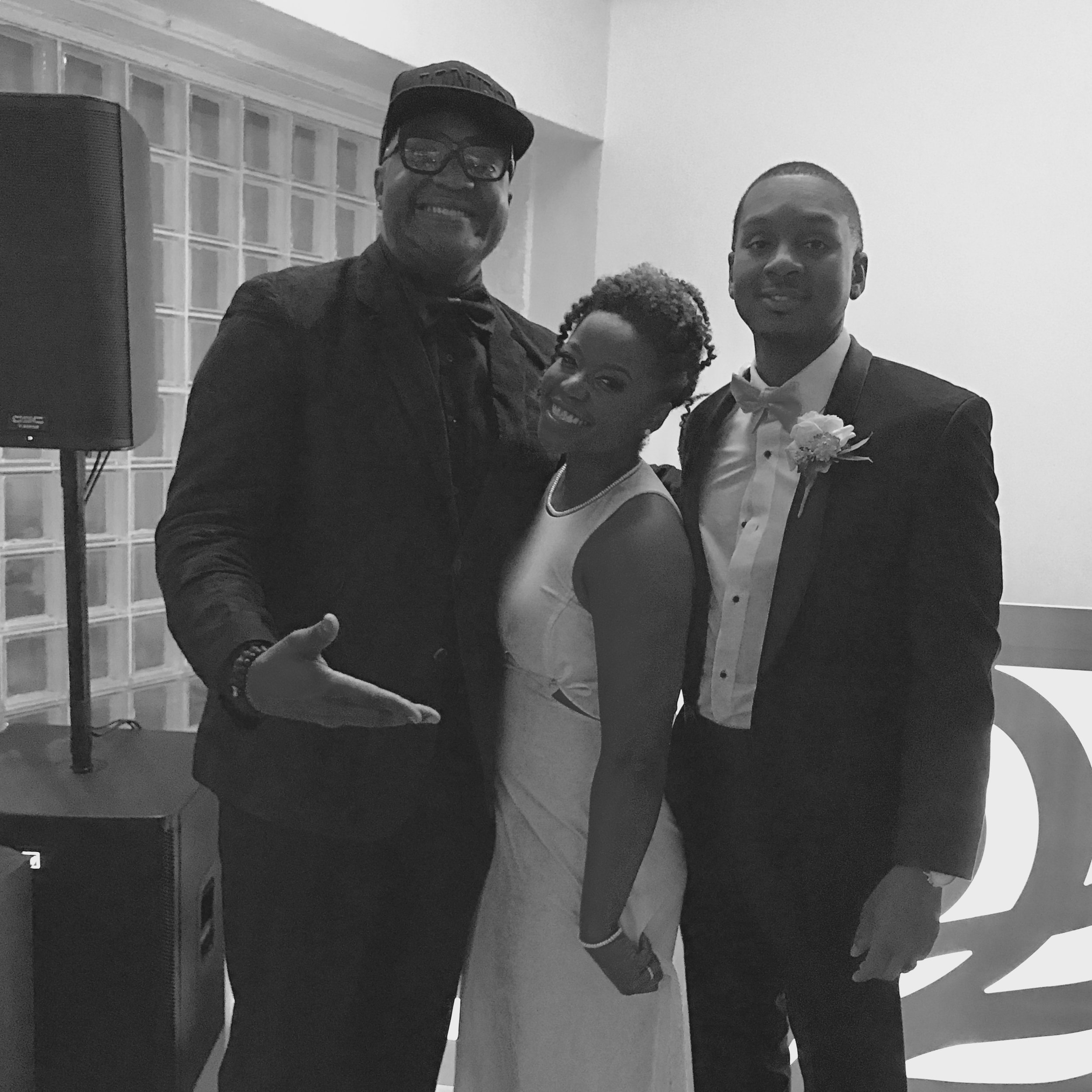 Kennard Davis Wedding by dj d jones prairie productions chicago loft black african american.jpg