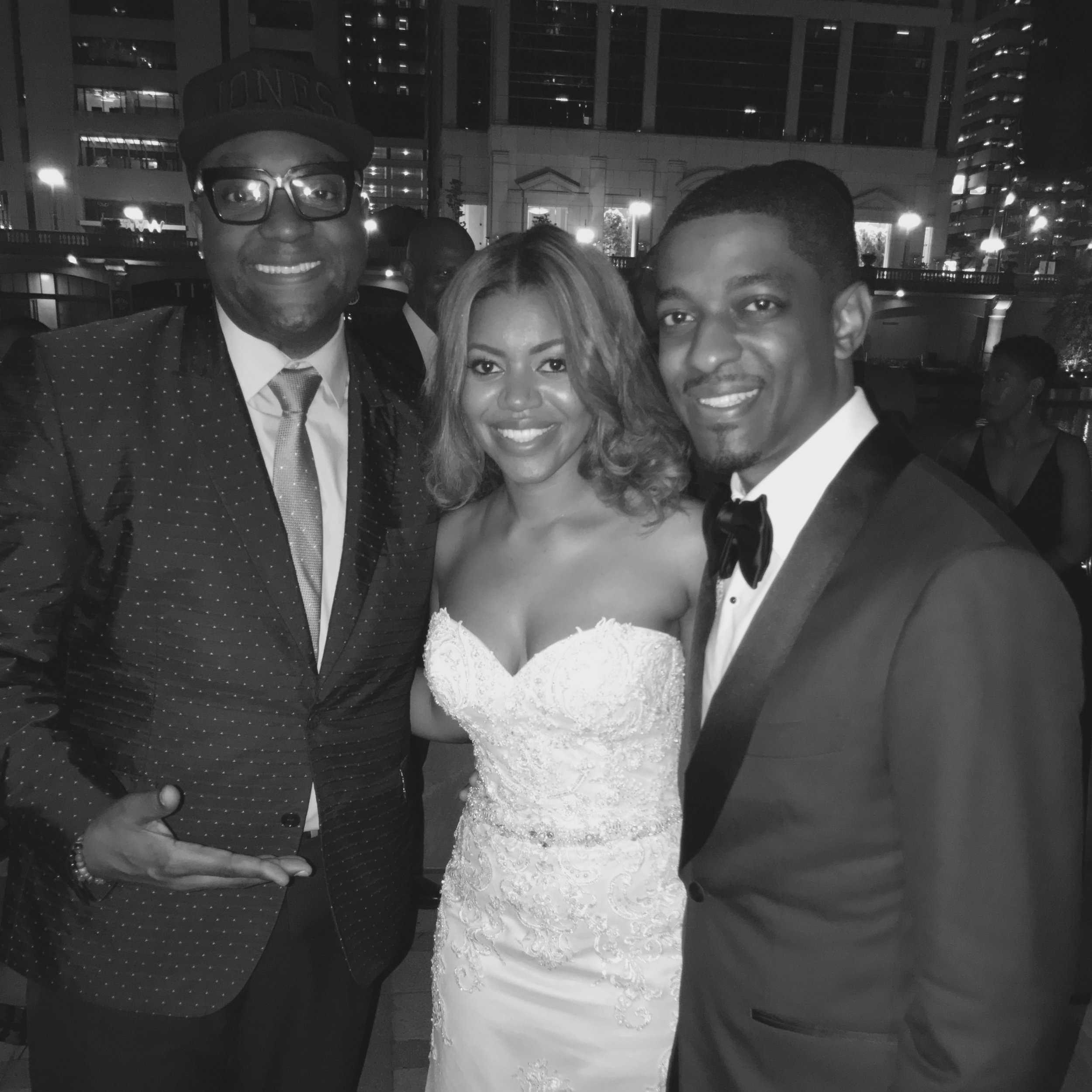 Strahan snowden Wedding by dj d jones westin river noth black african american.jpg