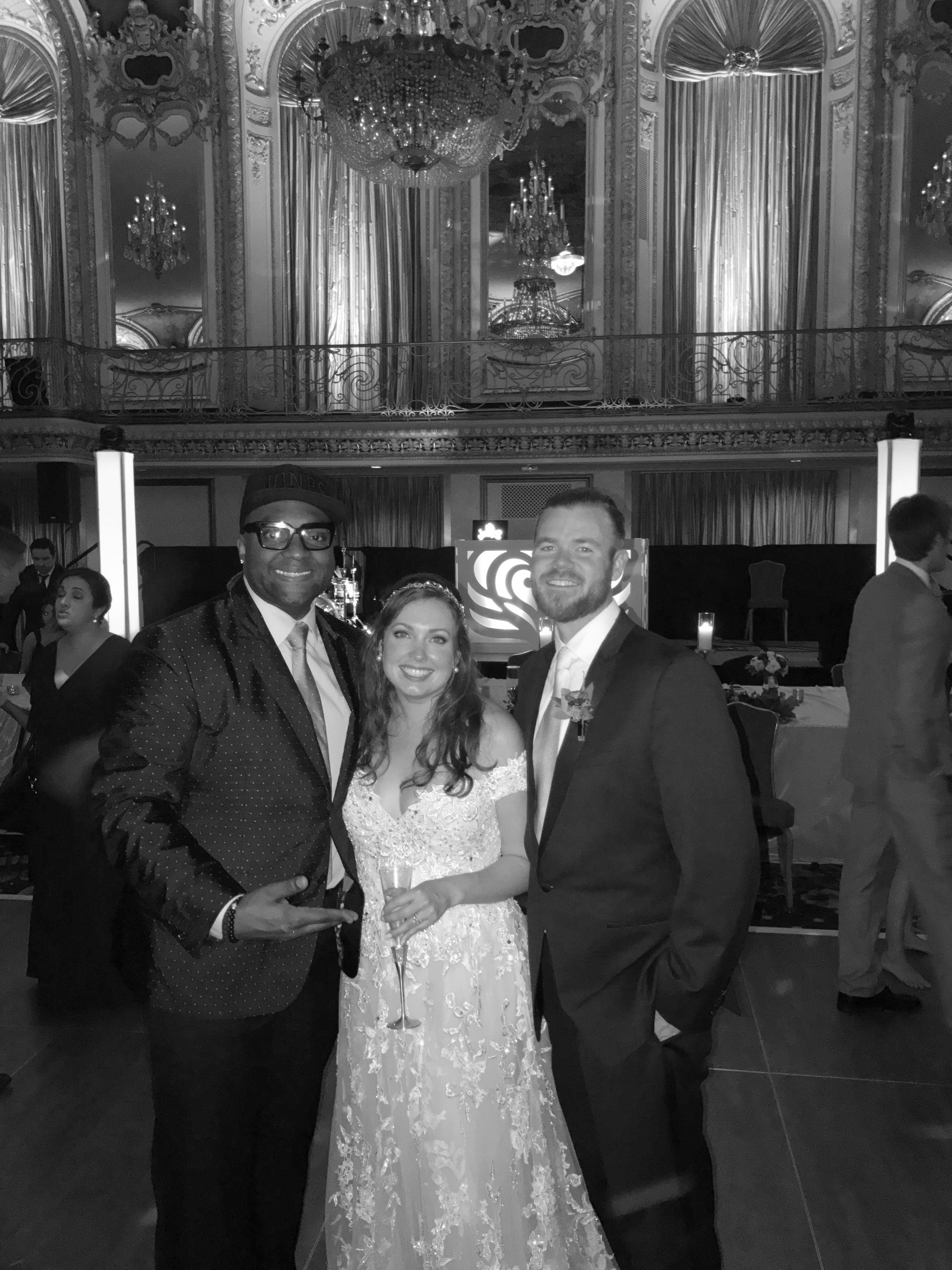 Gorecki  Konieczny Wedding by dj d jones luxury hilton magnificent mile million dollar .JPG