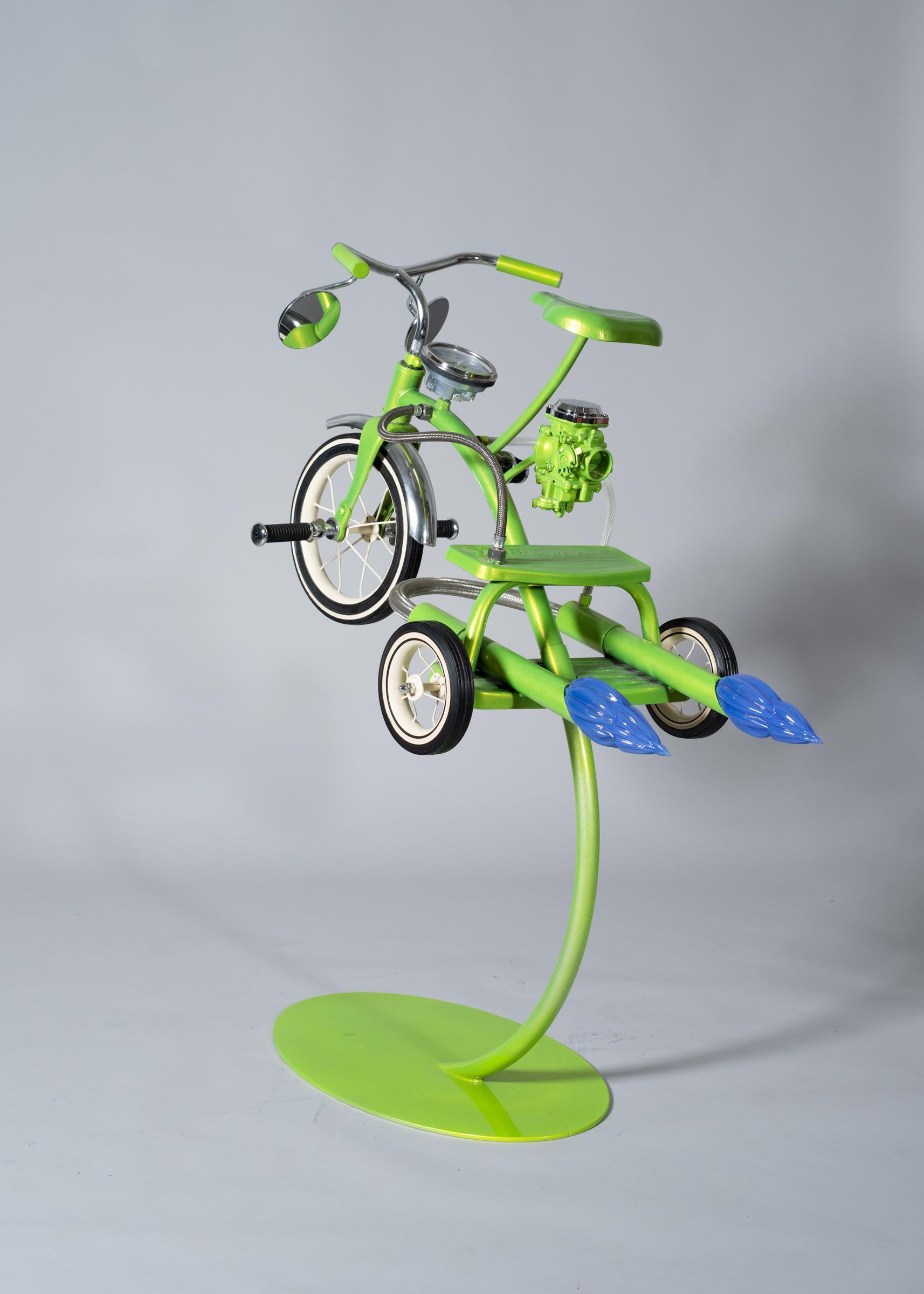 Joker Electric Green Stand